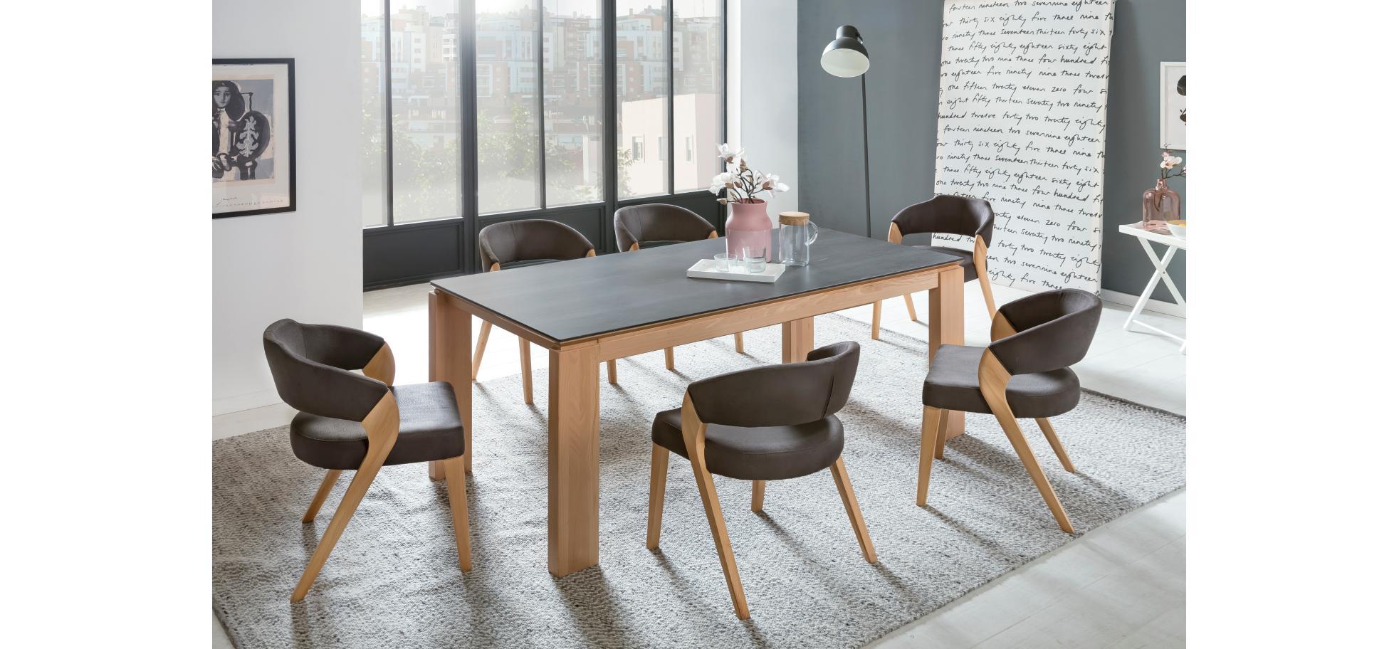 massiver esstisch mit auszug m belhaus pohl wilhelmshaven friesland m belhaus pohl gmbh. Black Bedroom Furniture Sets. Home Design Ideas