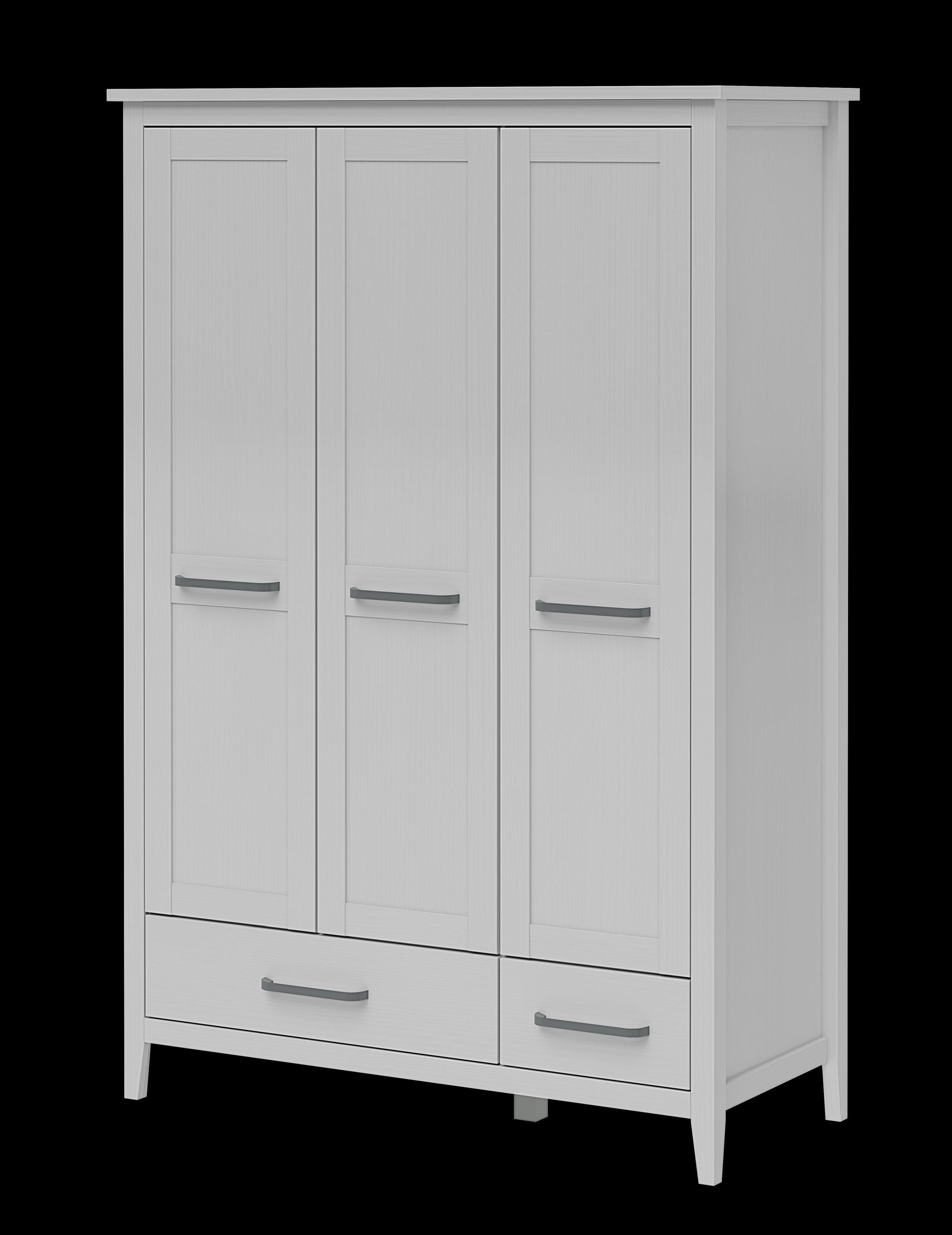 3 t riger kleiderschrank in kiefer massiv m belhaus pohl wilhelmshaven friesland. Black Bedroom Furniture Sets. Home Design Ideas