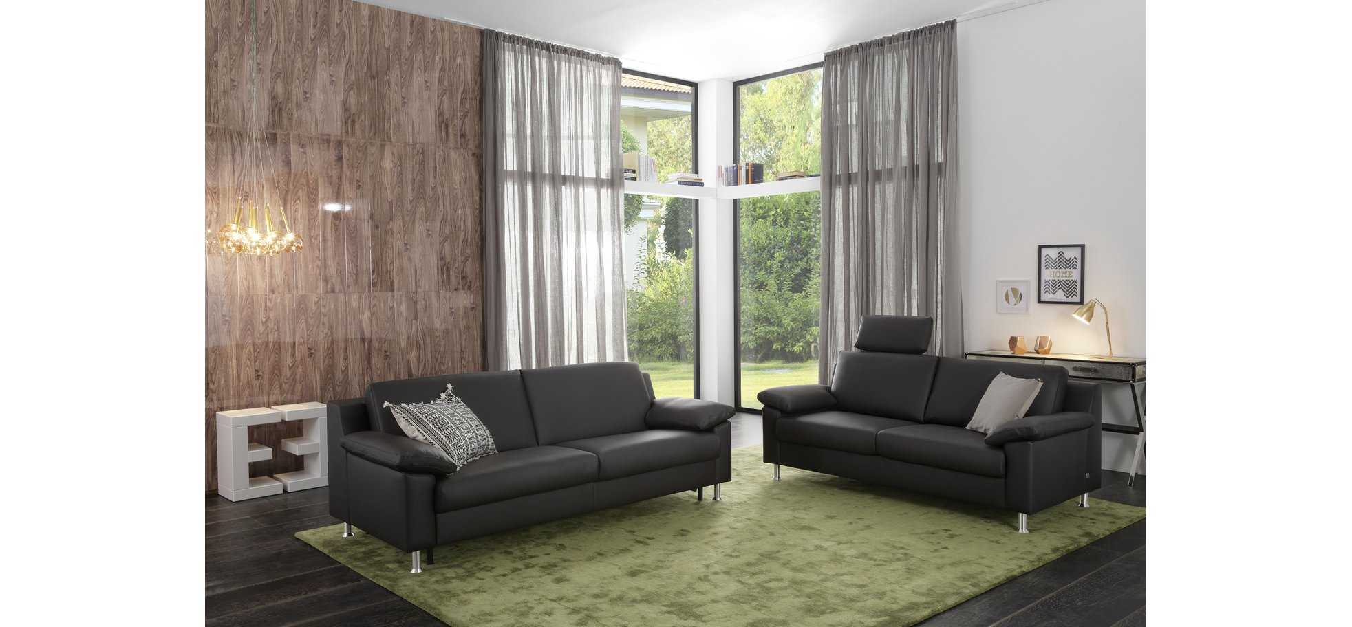 ledersofa in dunkelbraun m belhaus pohl wilhelmshaven friesland m belhaus pohl gmbh. Black Bedroom Furniture Sets. Home Design Ideas
