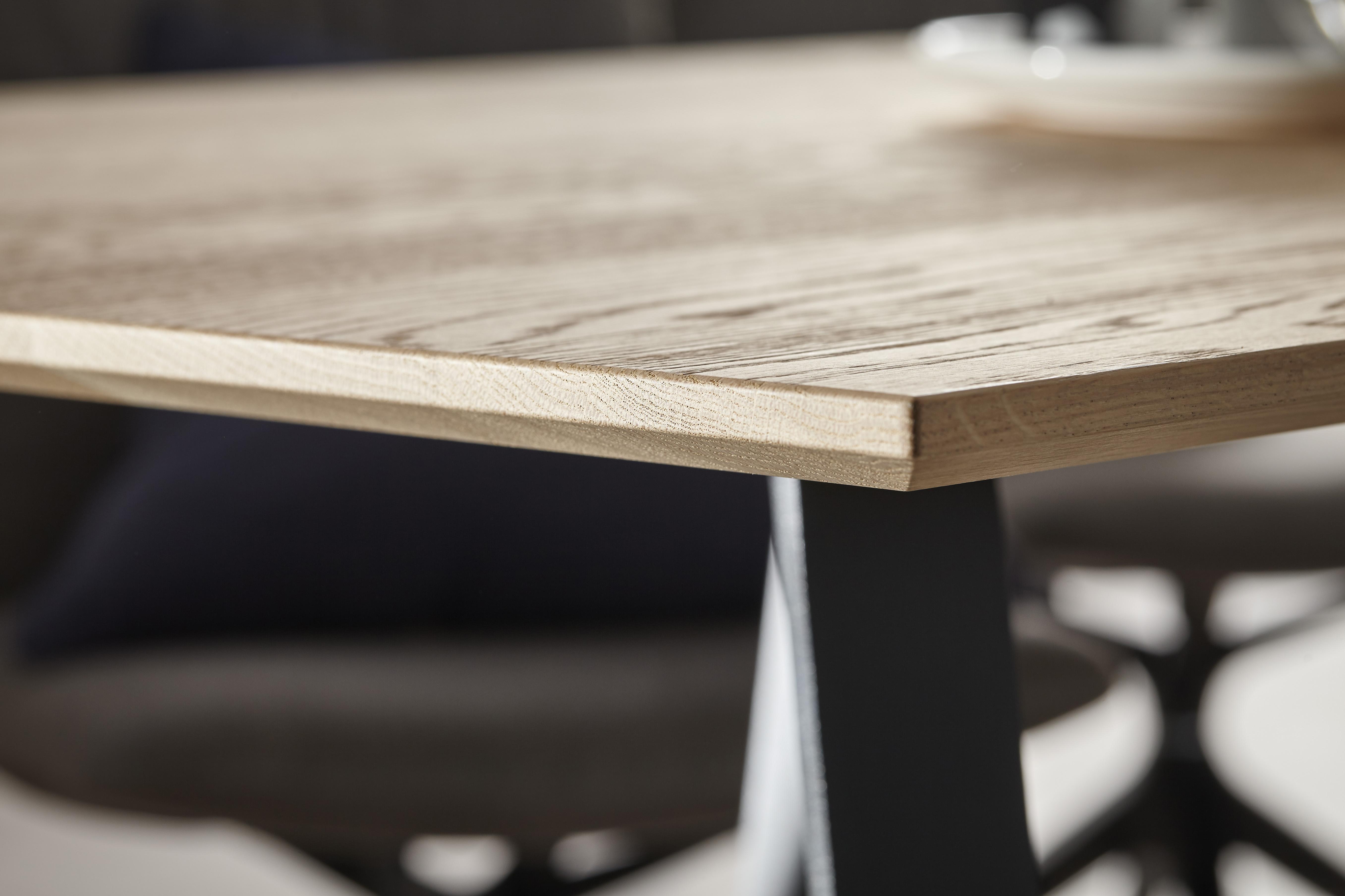 Esstisch Natura Orlando Tischplatte Massive Kerneiche Möbelhaus