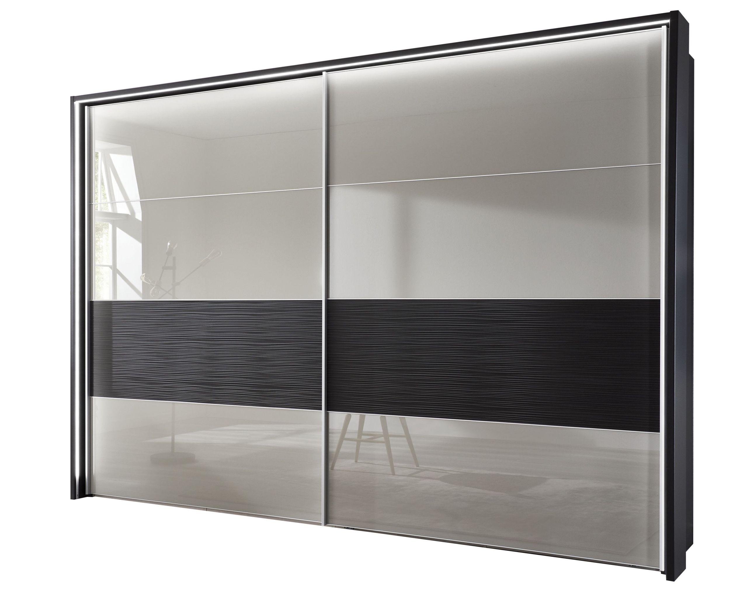 Kleiderschrank mit Schiebetüren in Beige, Maße 300x236x67 cm | Möbelhaus  Pohl - Wilhelmshaven & Friesland
