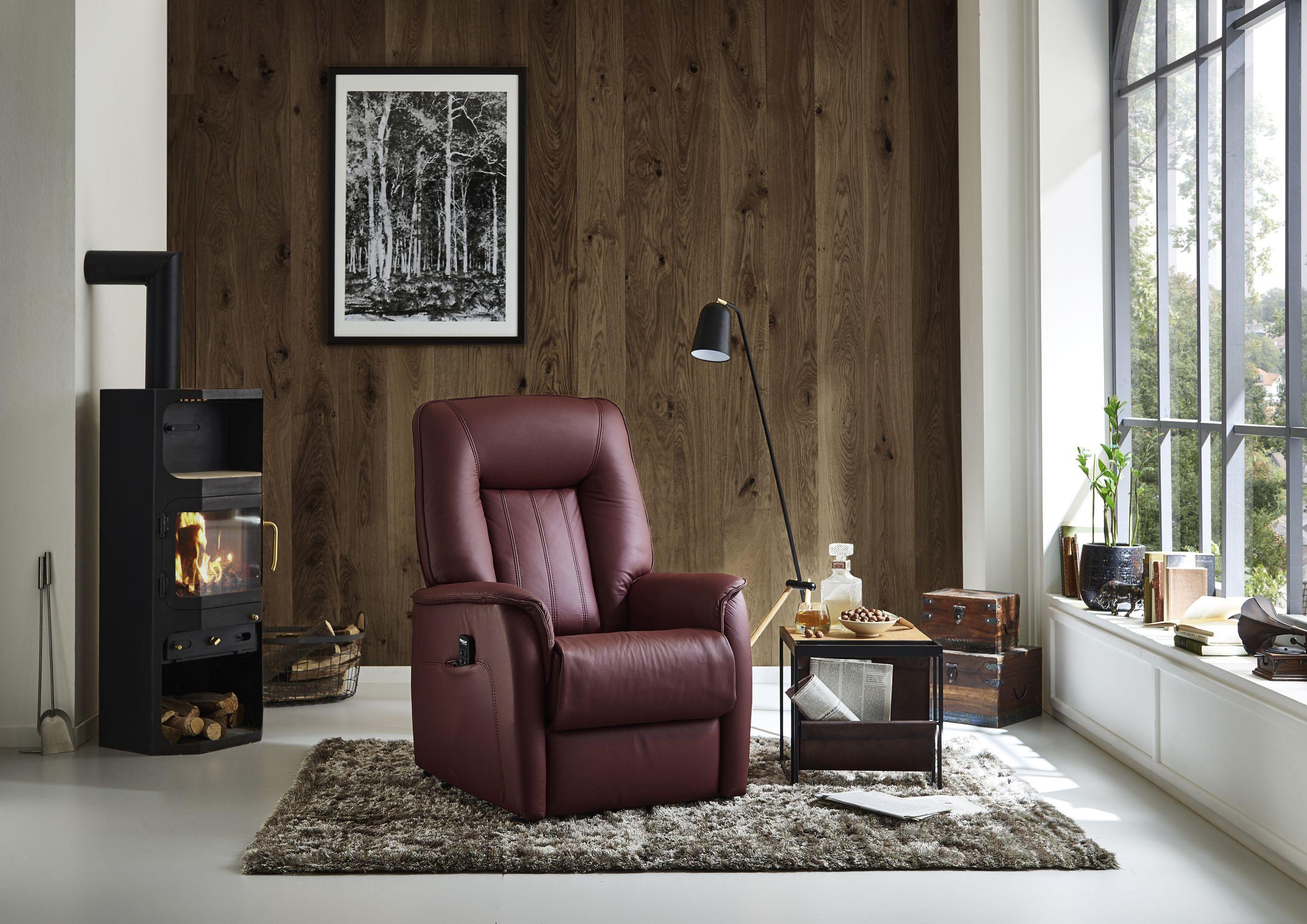 leder relaxsessel mit motor und aufstehhilfe m belhaus. Black Bedroom Furniture Sets. Home Design Ideas